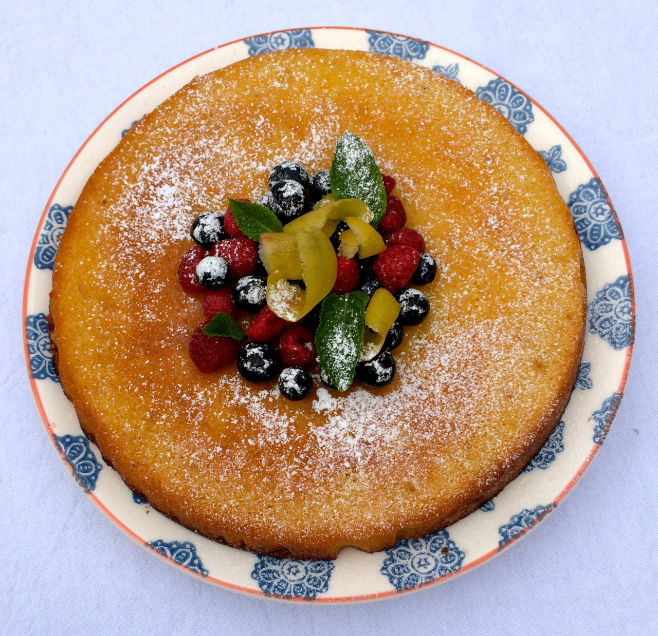 Lemon Polenta Cake Recipe No Almonds